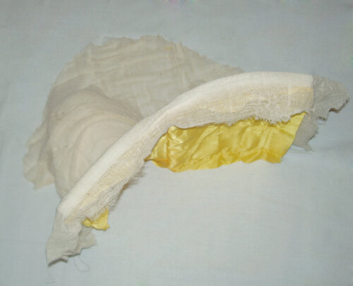 Курьи ножки из поролона - обтягиваем тканью