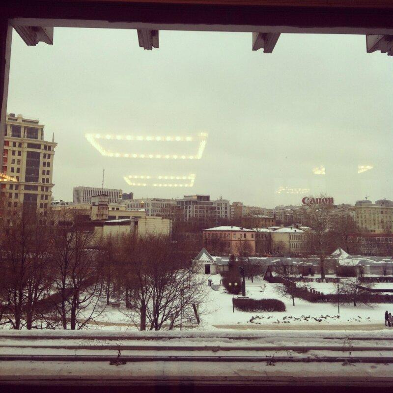Фойе ГТГ на Крымском валу. Искусство ХХ века