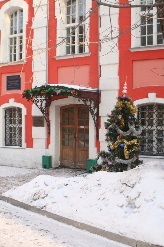 Рождественская ёлка у дома Н. З. Хитрово. 2013