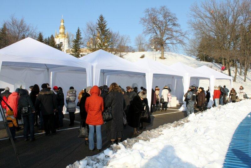 Павильоны Выставки цветов Снежной Королевы
