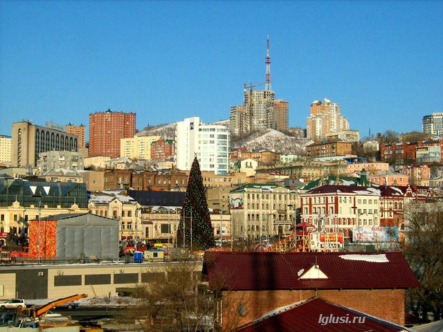 lglusi.ru   Владивосток, центральная площадь, зима