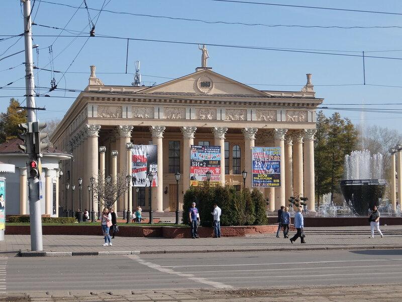 Воспоминания об осени - Театральная площадь