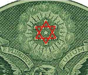 символ Велеса на долларах