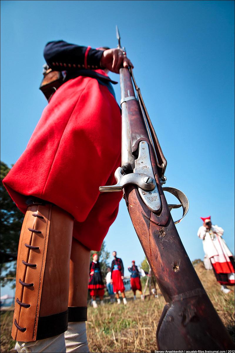 Зуавы времен Крымской войны