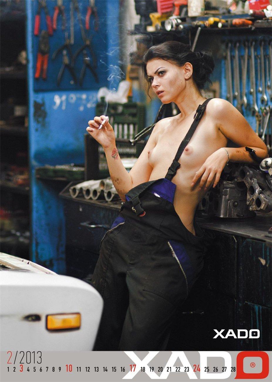 XADO - эротический календарь на 2013 год / фотограф Андрей Лукас