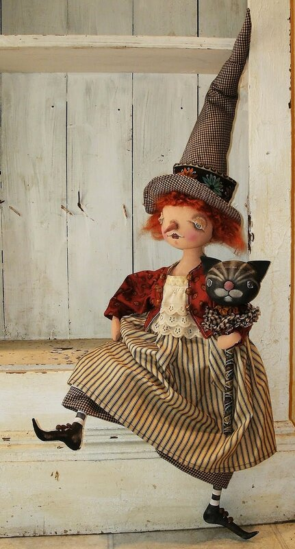 круглоголовая кукла