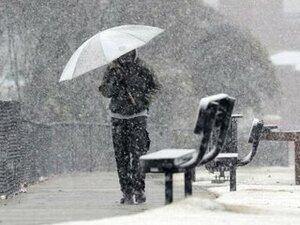 Во вторник во Владивостоке ожидается снег