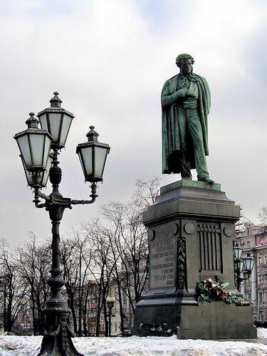 одинокий Пушкин