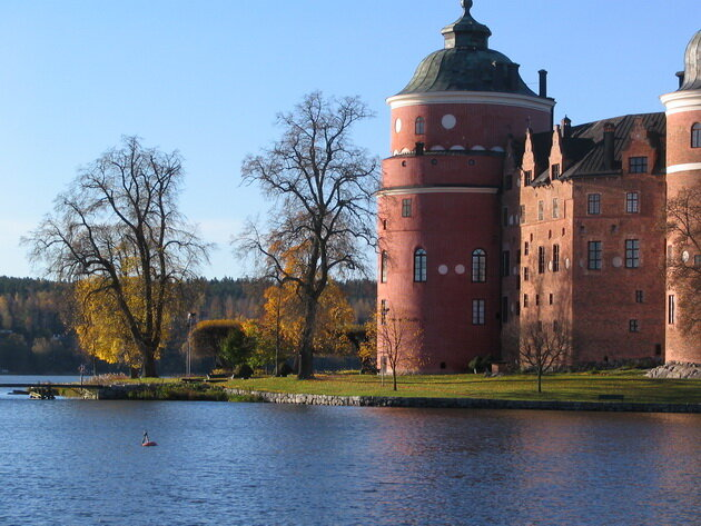 Замок Грипсхольм. Швеция