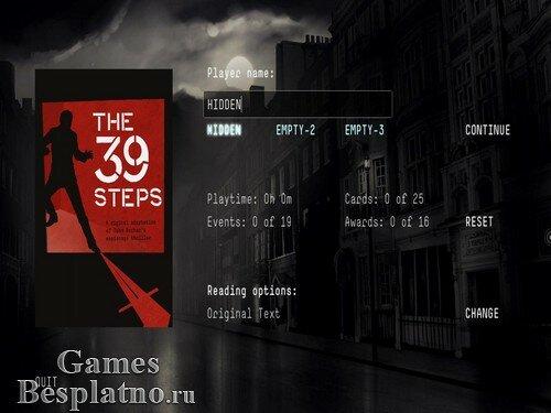 The Thirty Nine Steps | The 39 Steps