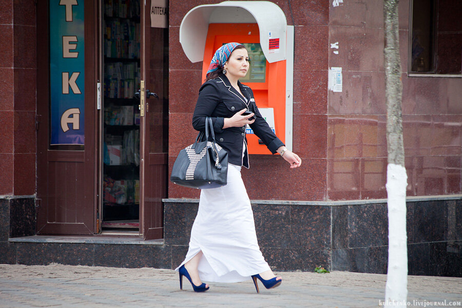 Чеченские девушки в платках фото