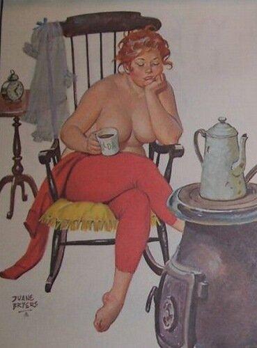 Дуэйн Брайерс (Duane Bryers) - Толстушка Хильда