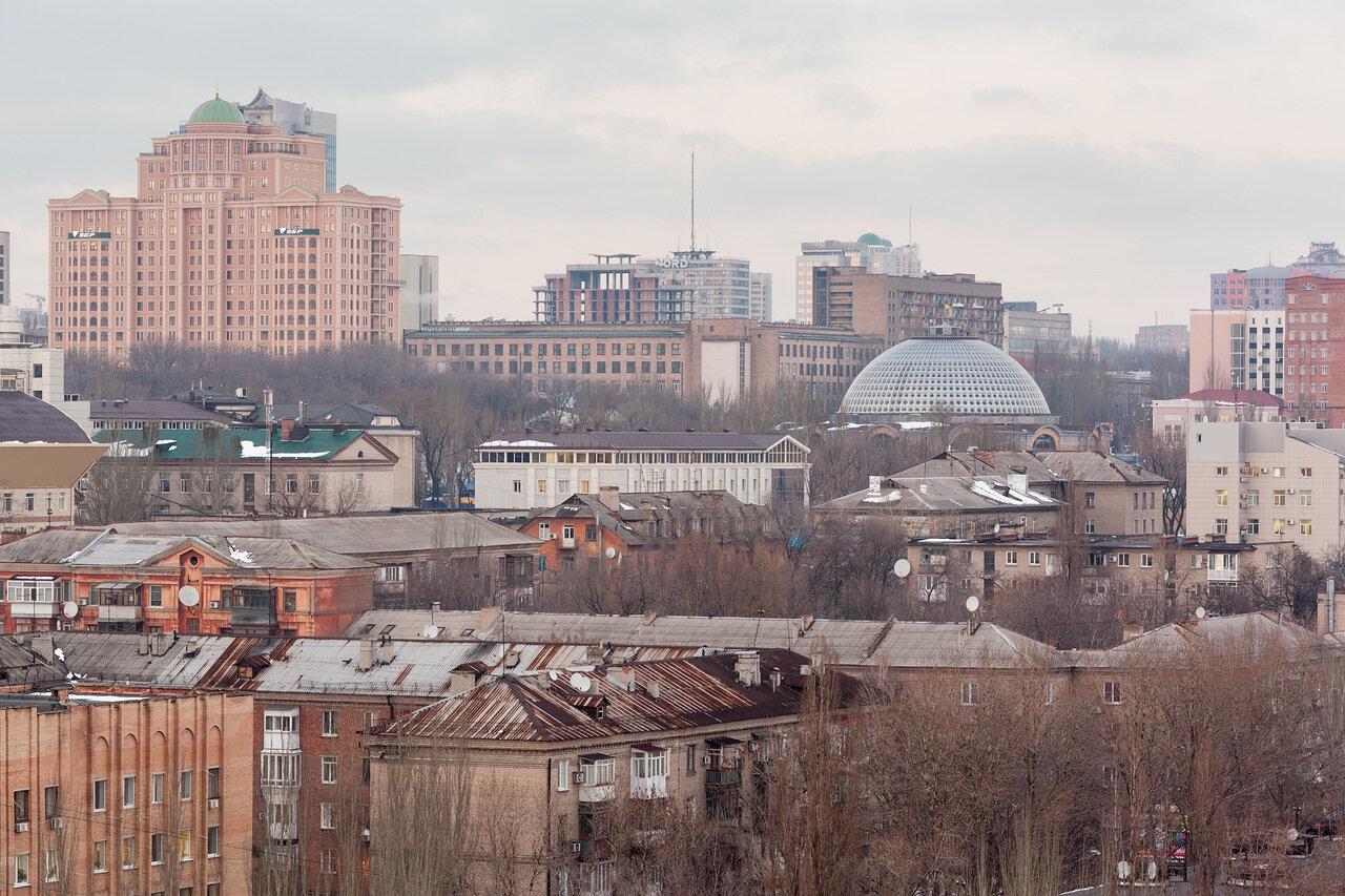Вод на Донецк, Столичный, Крытый рынок