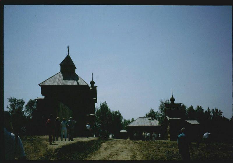 146. Музей деревянного зодчества под Иркутском