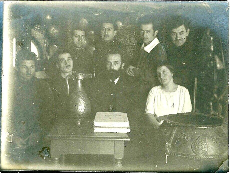 1925. Студенты семинара И.А.Орбели.