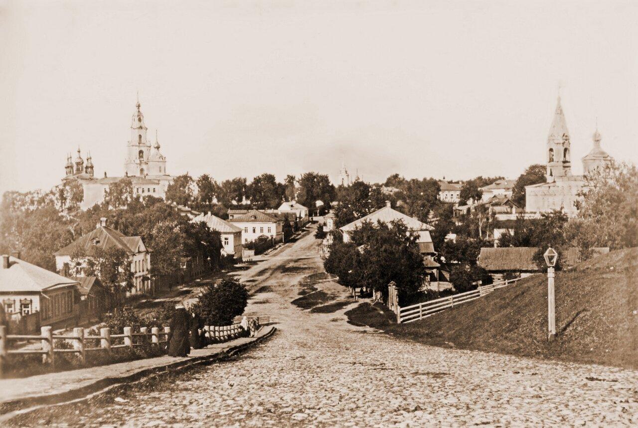 Вид на город с Муравьёвки.