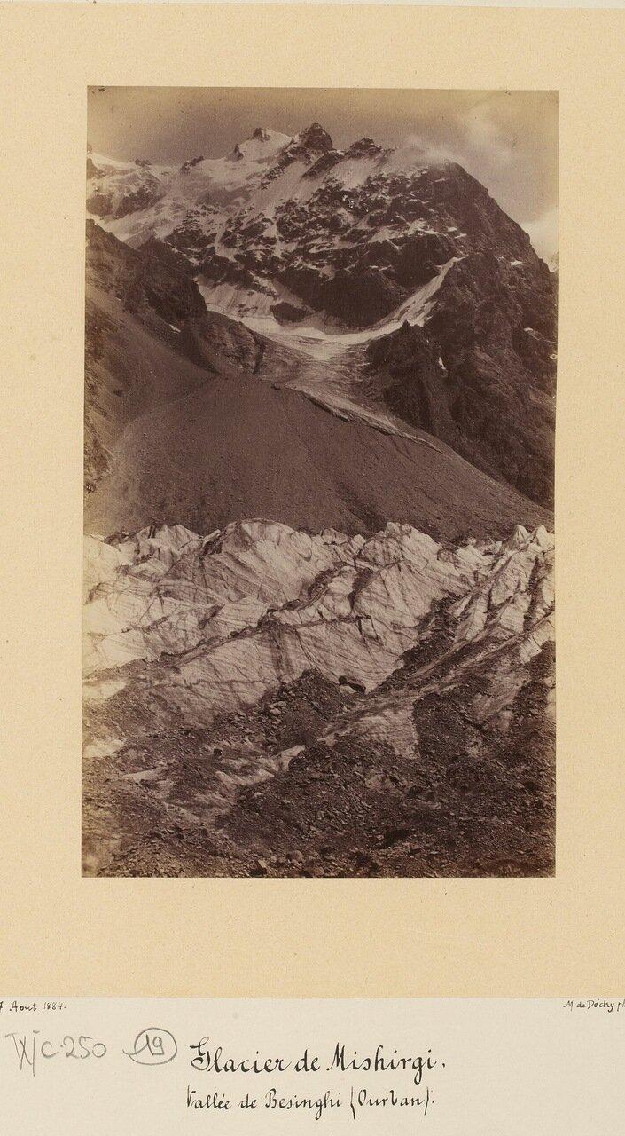 Ледник Мижирги, долина Безенги