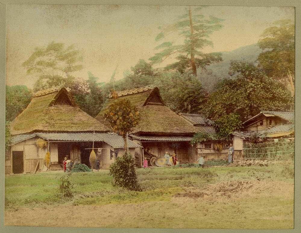 Японский сельский дом