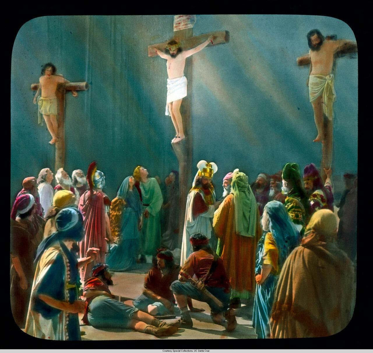 Обераммергау. Страсти Христовы. Распятие