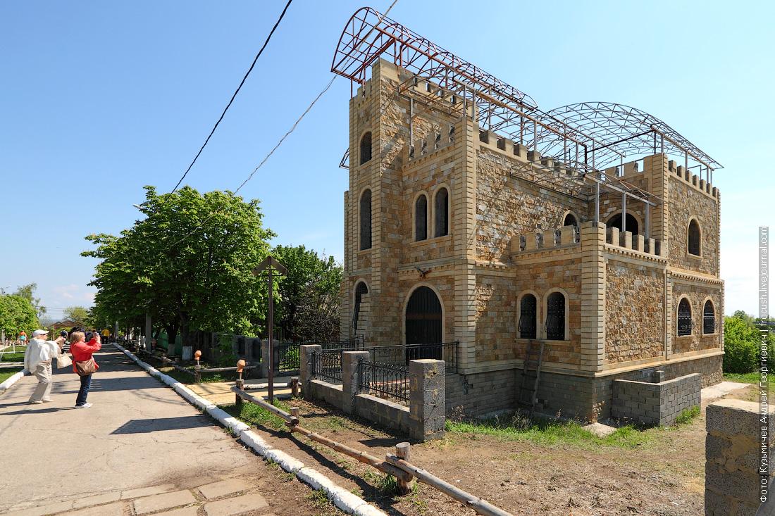 Соколова гора Дагестанский двор национальная деревня народов Саратовской области
