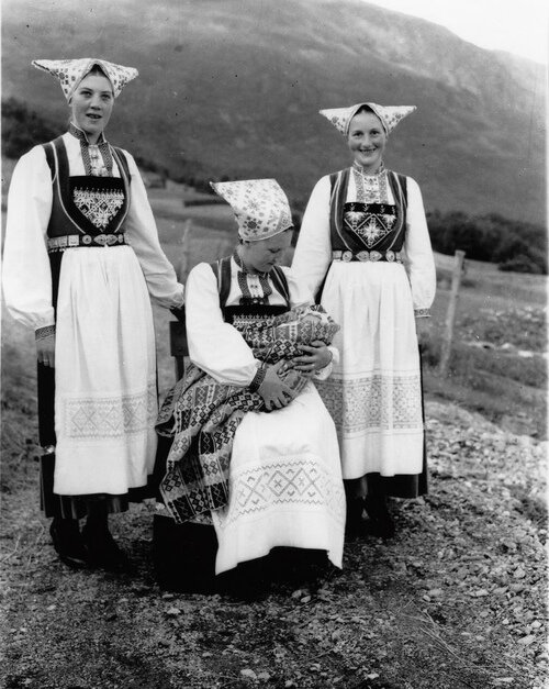 J. Bunader fra Voss (by Riksarkivet (National Archives of Norway)