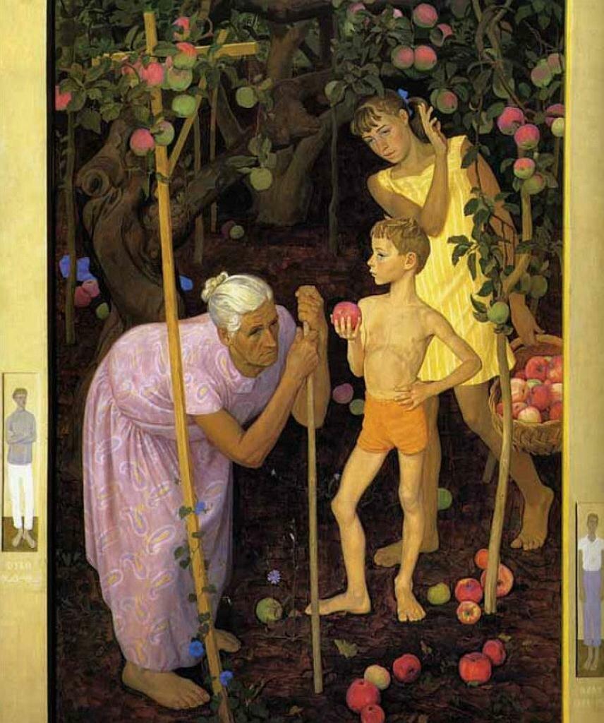 Под старой яблоней, Жилинский Дмитрий Дмитриевич (1927-);