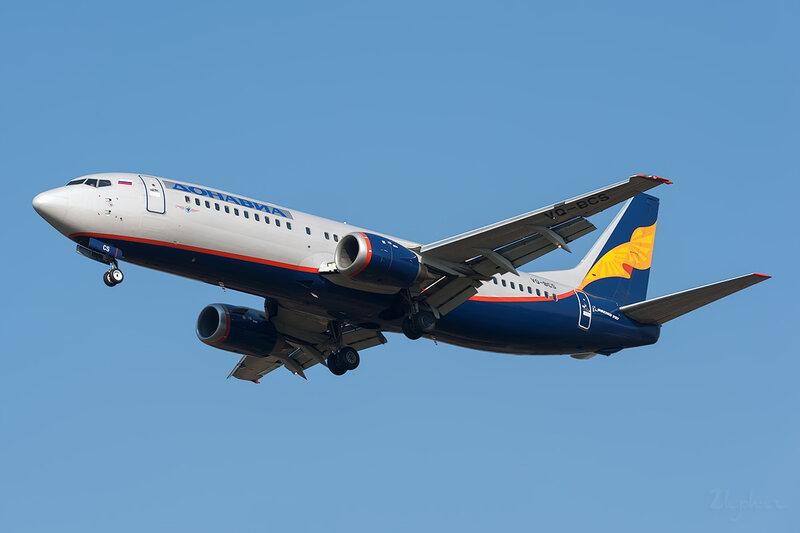 Boeing 737-43Q (VQ-BCS) Донавиа DSC6676