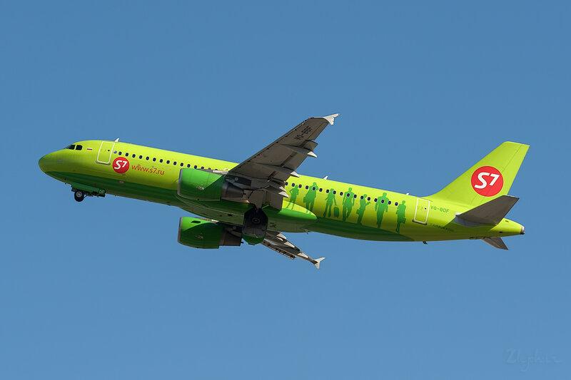 Airbus A320-214 (VQ-BDF) S7 DSC6773