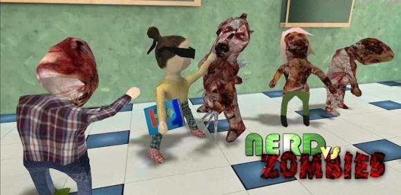 Nerd против зомби для Android