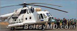 Армия южного Судана сбила вертолёт с миротворцами