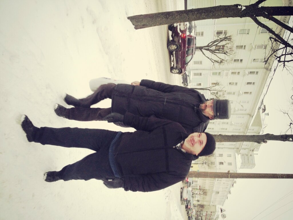 Зимний Минск перед Рождеством