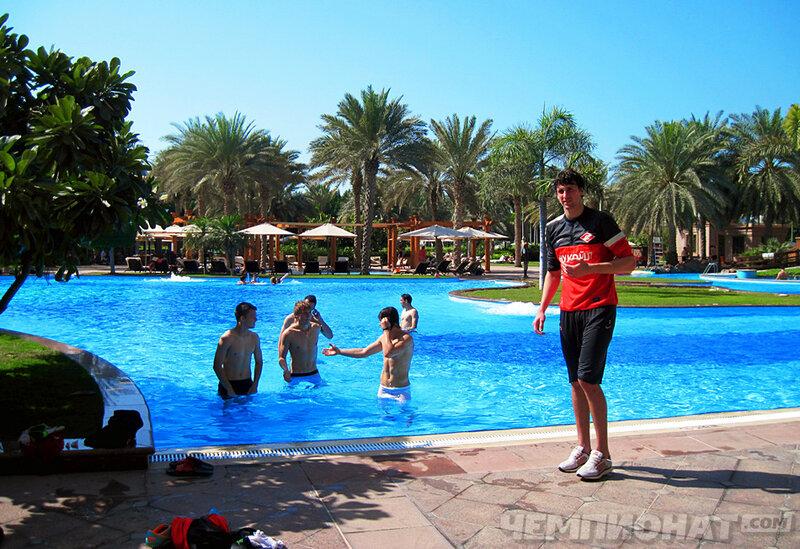 «Спартак» на сборе в Абу-Даби (Фото)