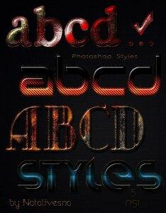 5 Дизайнерских текстовых стилей для Photoshop 0_be953_b5e99094_M
