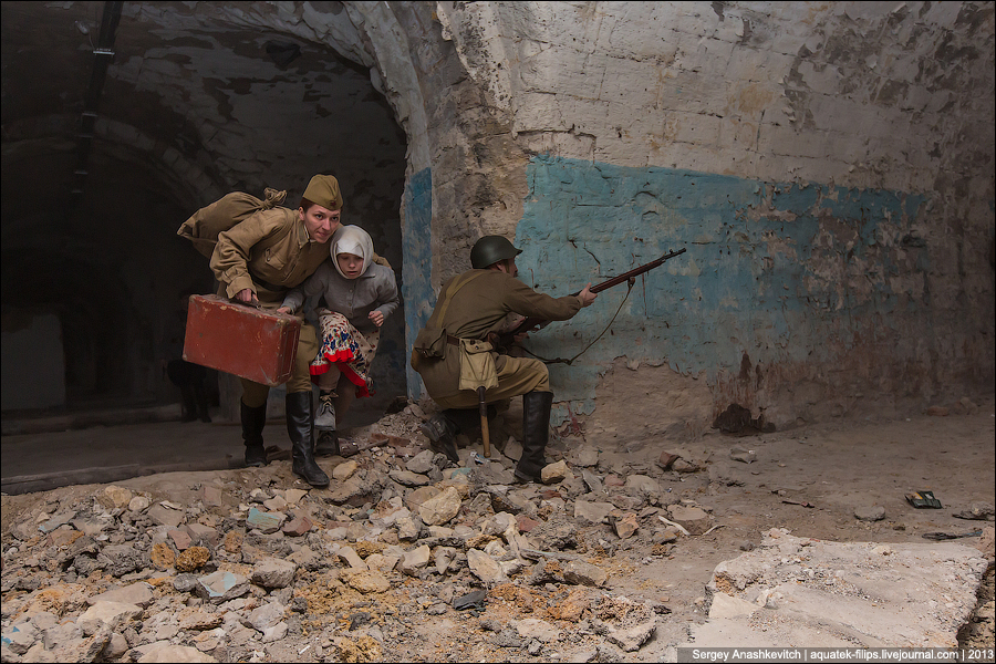Михайловская батарея в Севастополе