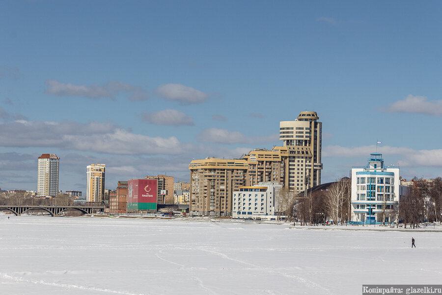 Екатеринбург. Городской пруд.