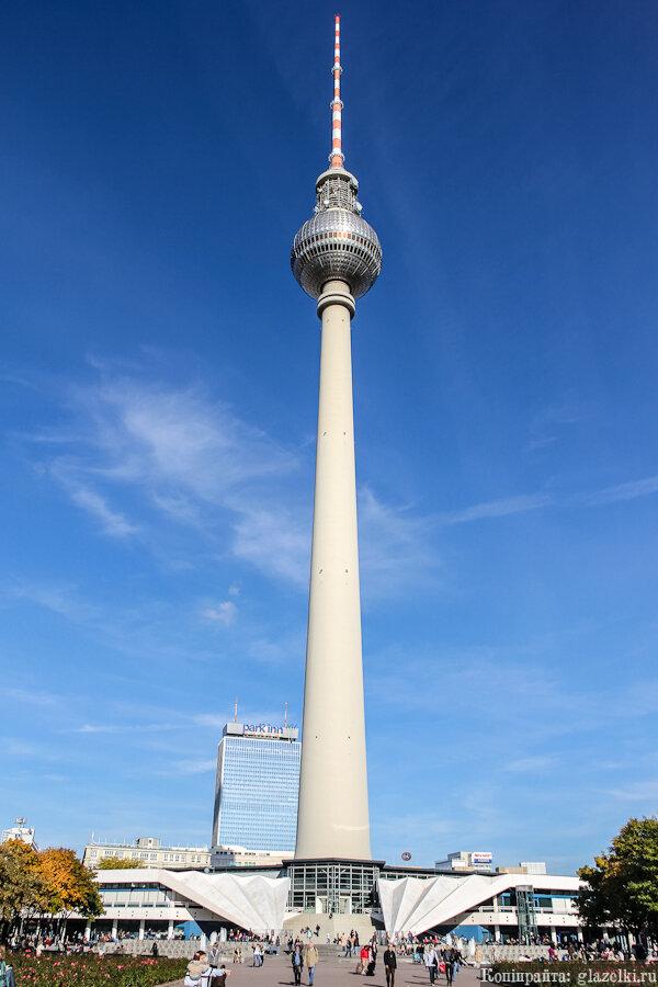 Берлинская телебашня.