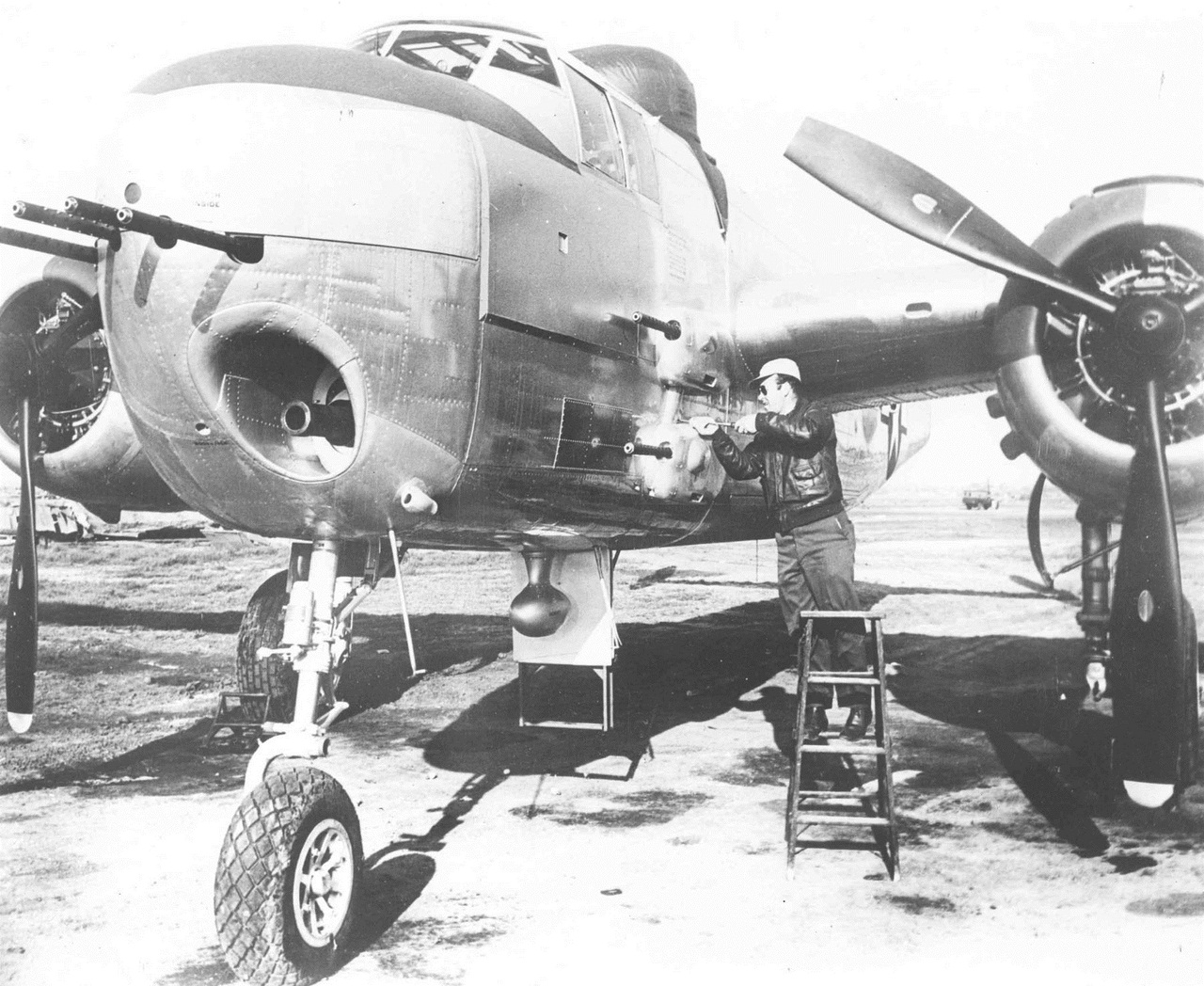 North American B-25H