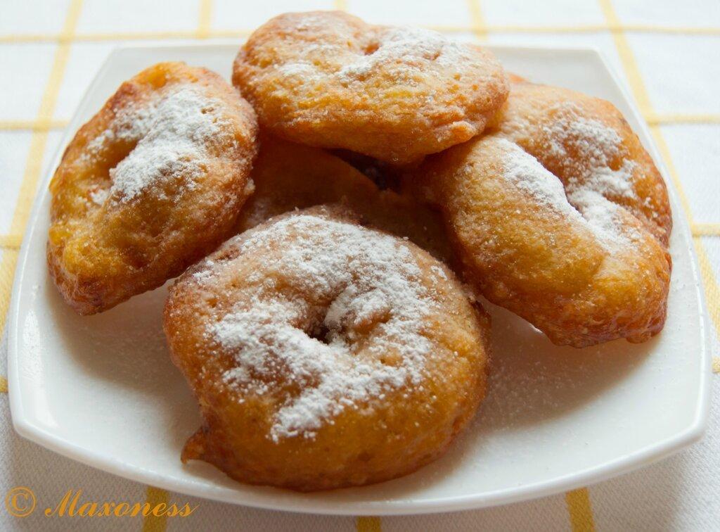 Бунуэлос (тыквенные пончики). Испанская кухня
