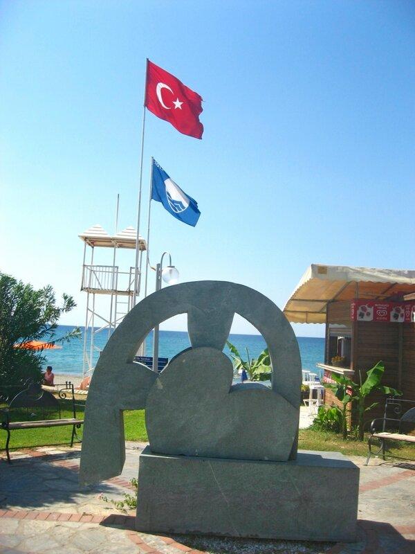 Турция. Аланья, Обакёй - Пляжи, Пальмы, Море, Закаты и восходы, Города - turkey, alanya