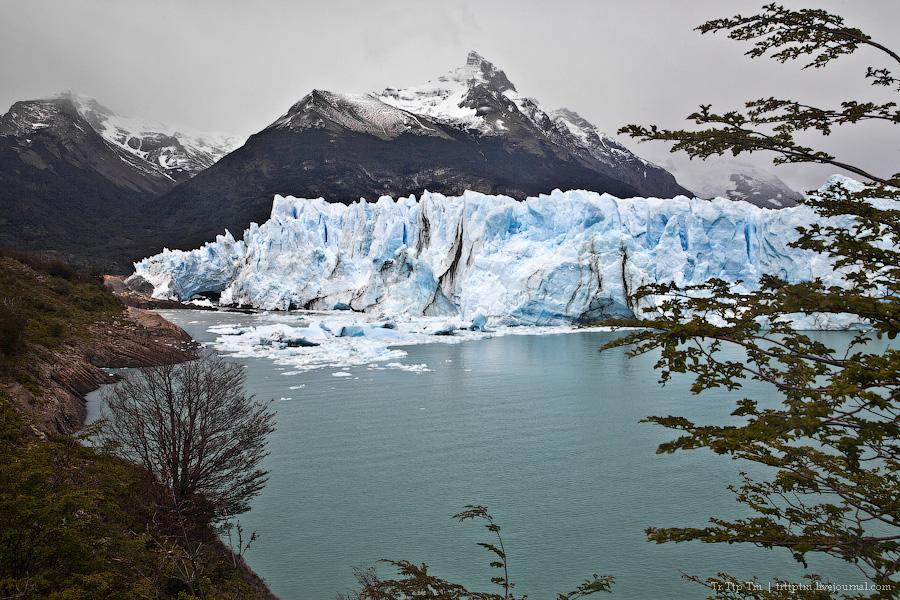 9. Устоявший перед потеплением. Ледник Перито Морено.