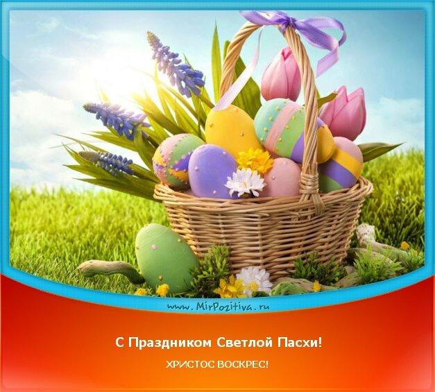 позитивчик: С Праздником Светлой Пасхи! ХРИСТОС ВОСКРЕС!