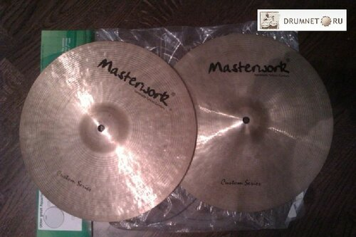 Masterwork custom thin hi-hat