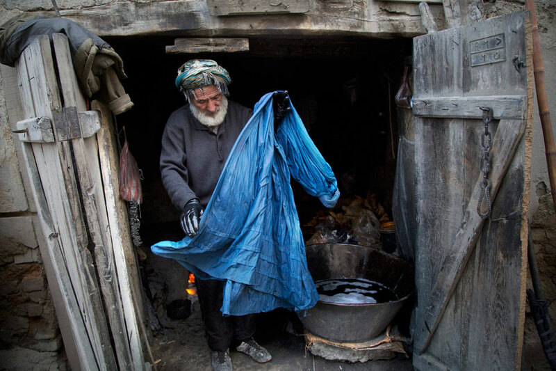 APTOPX Afghanistan Burqa Woes