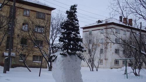 Фото города Инта №2738  Гагарина 5 и 3 31.01.2013_13:13