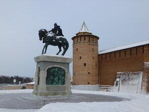 Достопримечательности Коломны: памятник Дмитрию Донскому