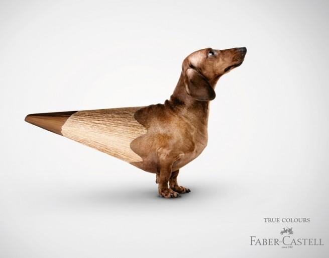 Рекламная серия True Colours | Компания Faber-Castell | Агентство Serviceplan Munich