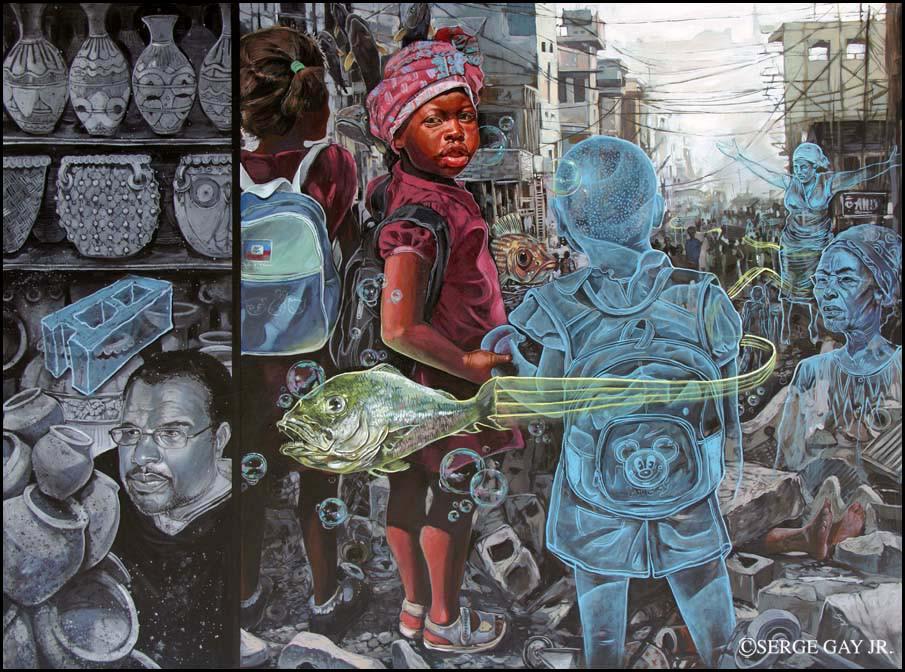 Концептуальные иллюстрации Serge Jr.