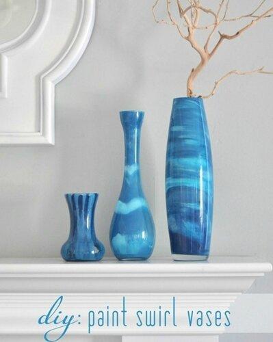 Мраморные вазы