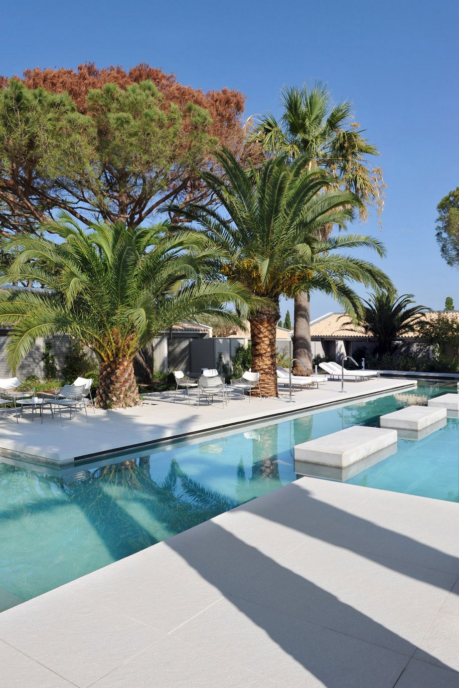 Фешенебельный отель в Сен-Тропе