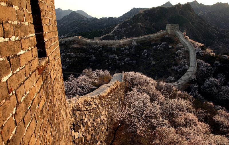 Чудесные виды Великой стены в начале весны 0 8228c d075cbc4 XL